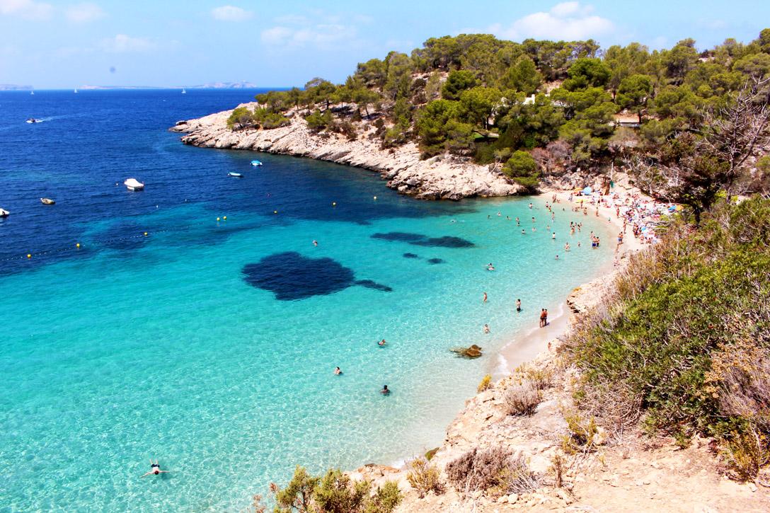 Bucht Cala Salada Ibiza