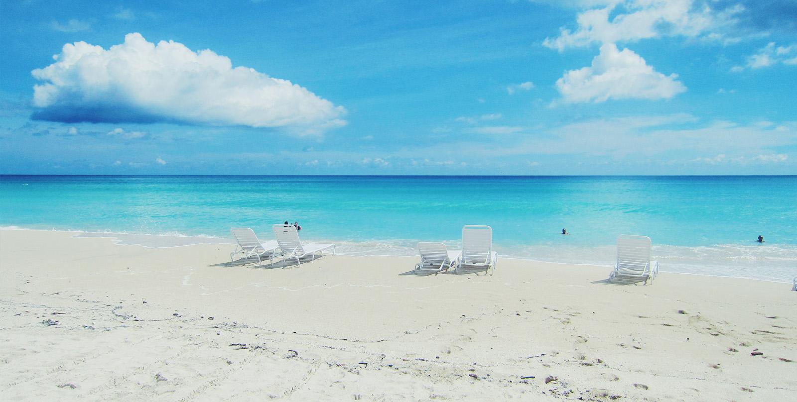 Liegen am Miami Beach