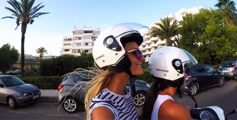 Roller Tour auf Ibiza