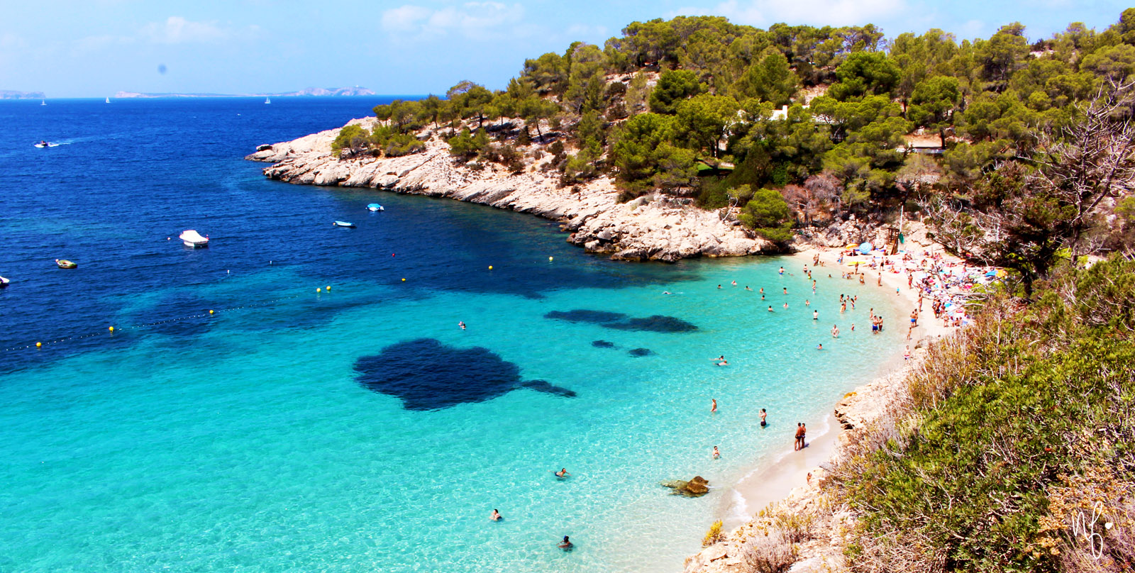 Cala Salada Beach Ibiza