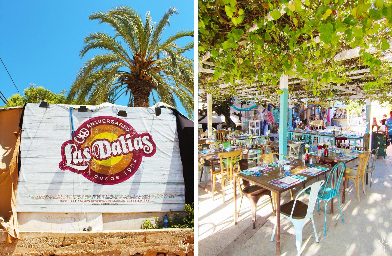 Hippiemarkt Las Dalias Ibiza Restaurant Eingang