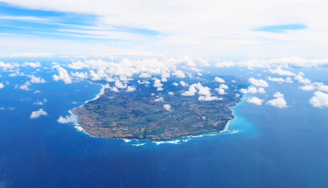 Barbados aus der Luft