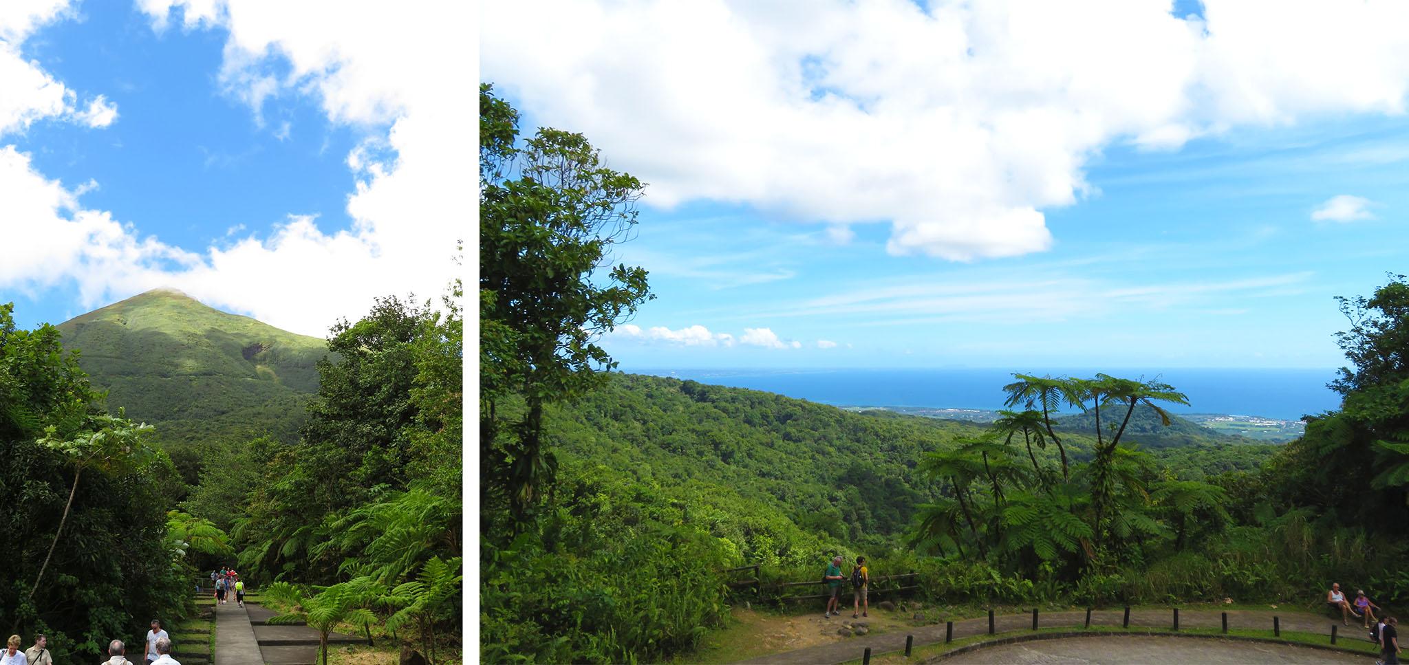 Carbet Wasserfälle Guadeloupe Karibik