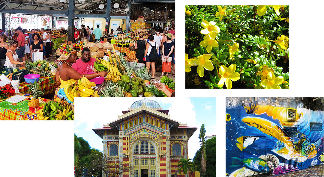 Karibik Kreuzfahrt Martinique Fort-de-France Stadt Ausflug