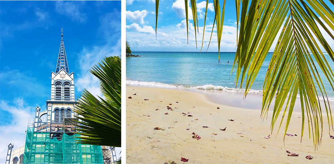 Karibik Kreuzfahrt Martinique Strand Ausflug auf eigene Faust