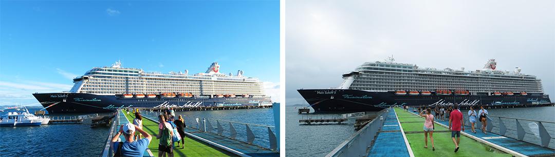 Karibik Kreuzfahrt Martinique Hafen Mein Schiff 5