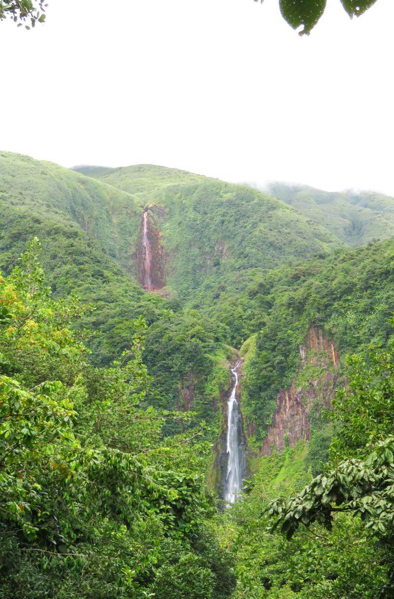 Guadeloupe Carbet Wasserfälle Ausflug Karibik Kreuzfahrt
