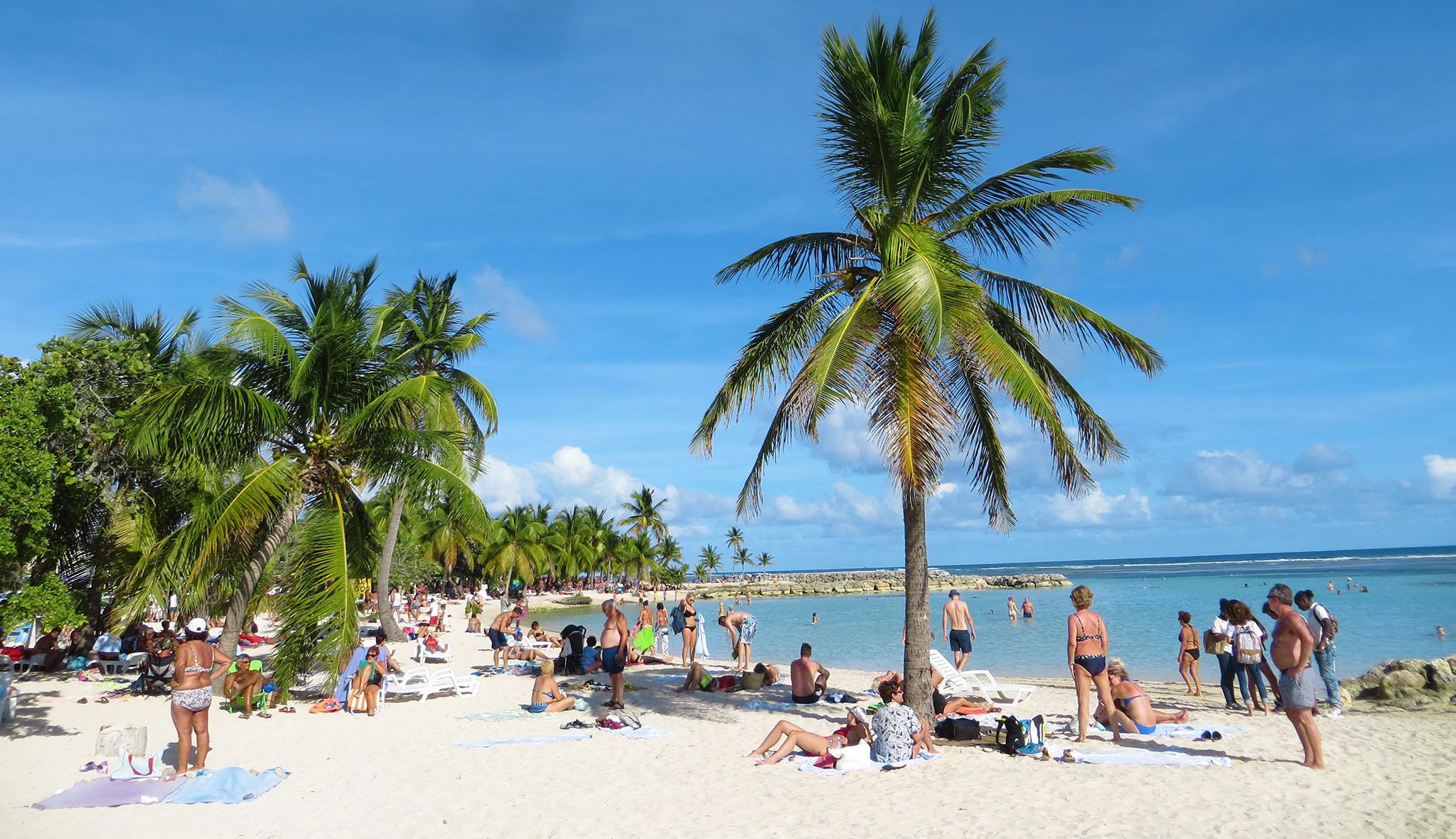Sainte Anne Beach Guadeloupe auf eigene Faust