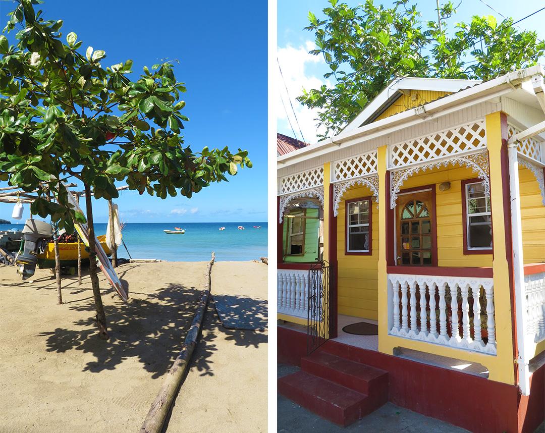Fischerdorf St Lucia Strand