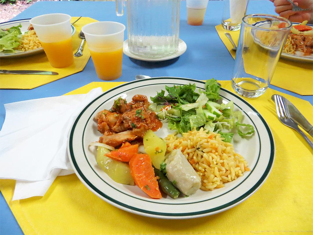 Kreolisches Essen