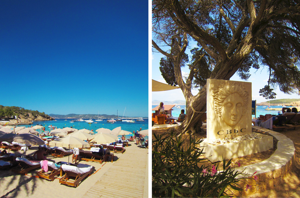 Cala Bassa beach Club Ibiza