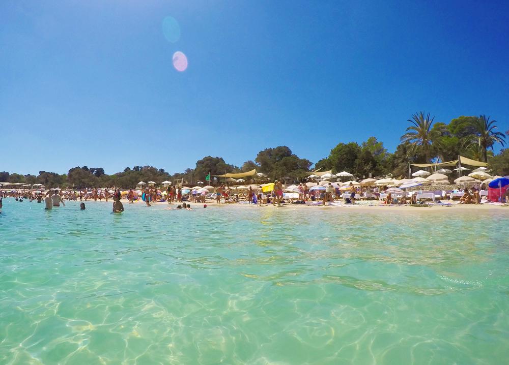 Cala Bassa Ibiza Water