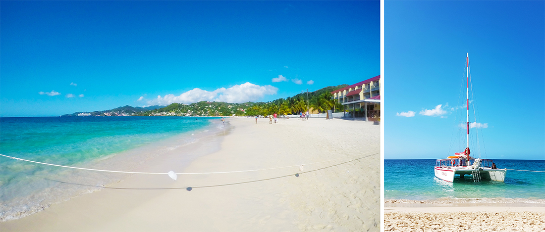 Grand Anse Beach Grenada Karibik