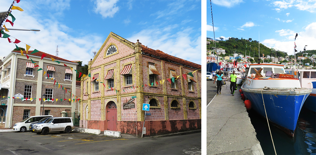 Grenada Carenage auf eigene Faust