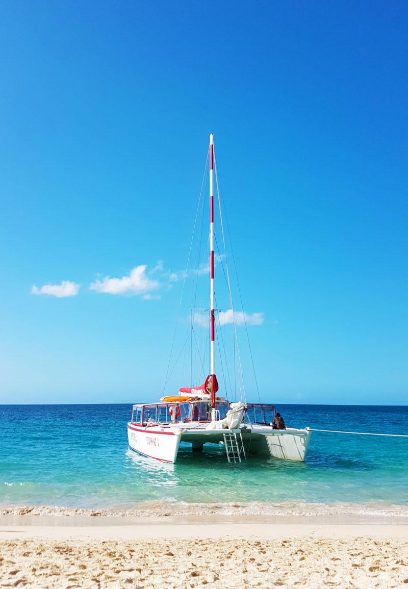 Grenada Grand Anse Beach Katamaran