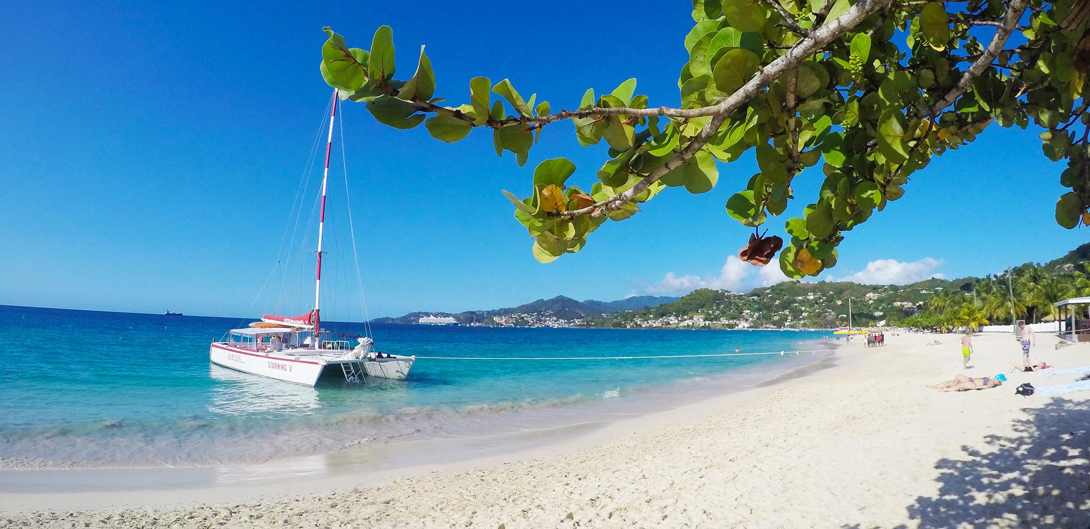 Grand Anse Beach Katamaran