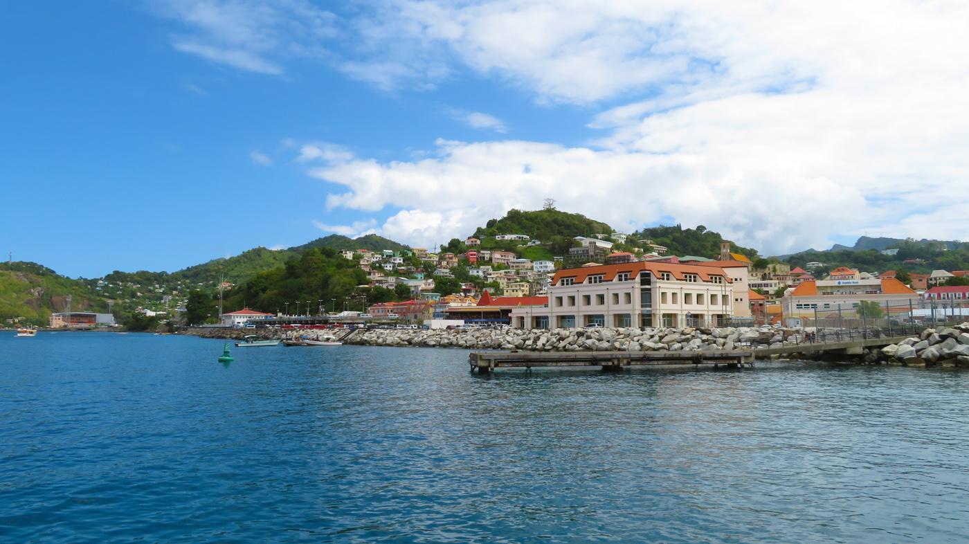 Karibik Kreuzfahrt Grenada Hafen