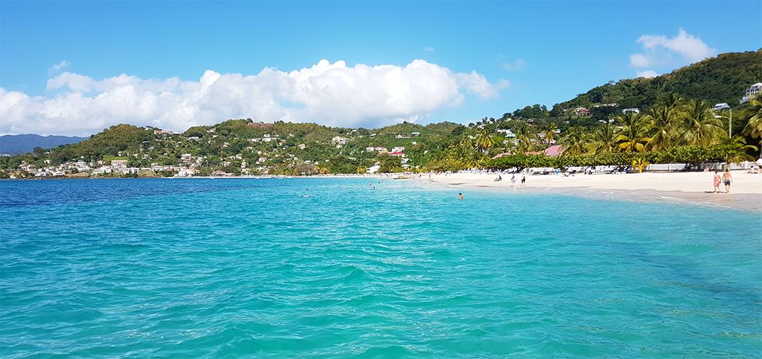 Karibik Kreuzfahrt Grenada Strand Ausflug