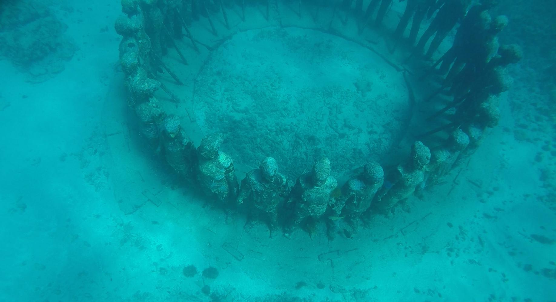 Unterwasserskulpturenpark Grenada