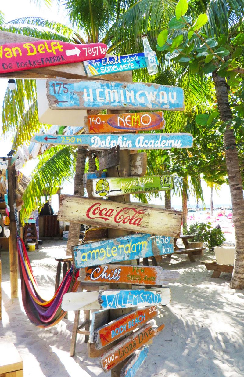 Curacao Schild
