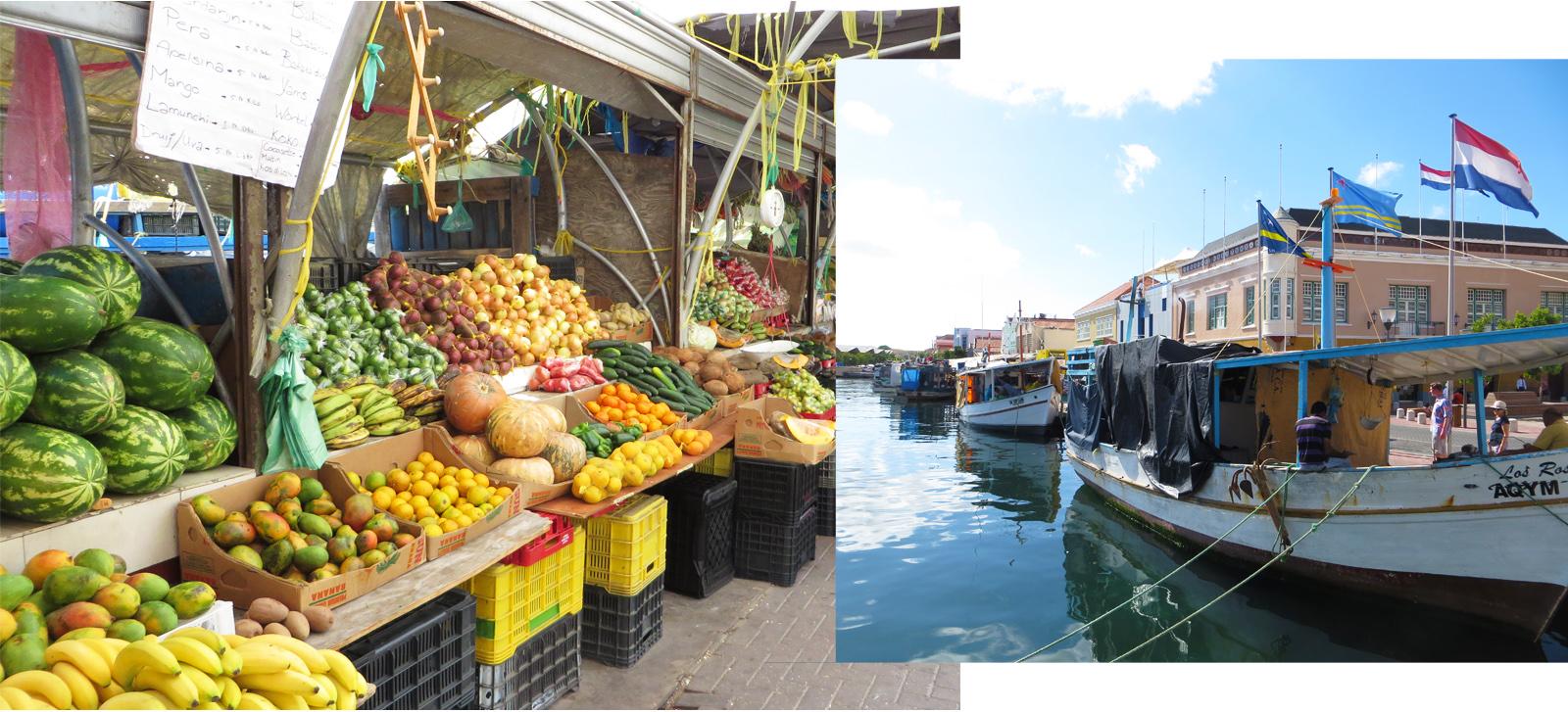 Schwimmender Markt Curacao