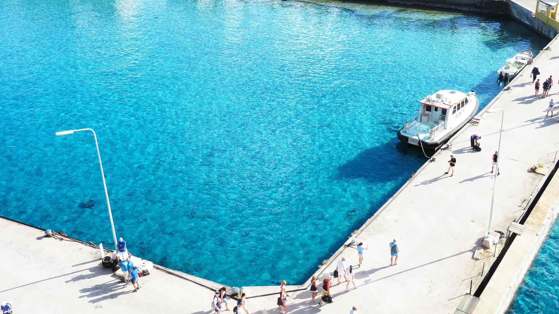Karibik Kreuzfahrt Bonaire Hafen Reisebericht
