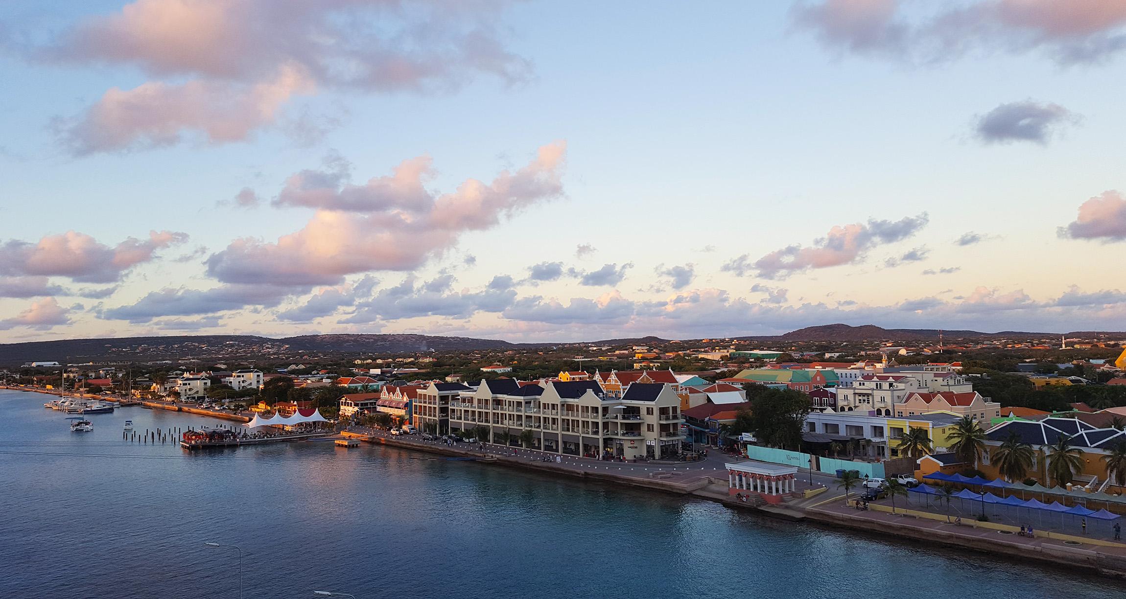 Karibik Kreuzfahrt Bonaire Kralendijk Aussicht