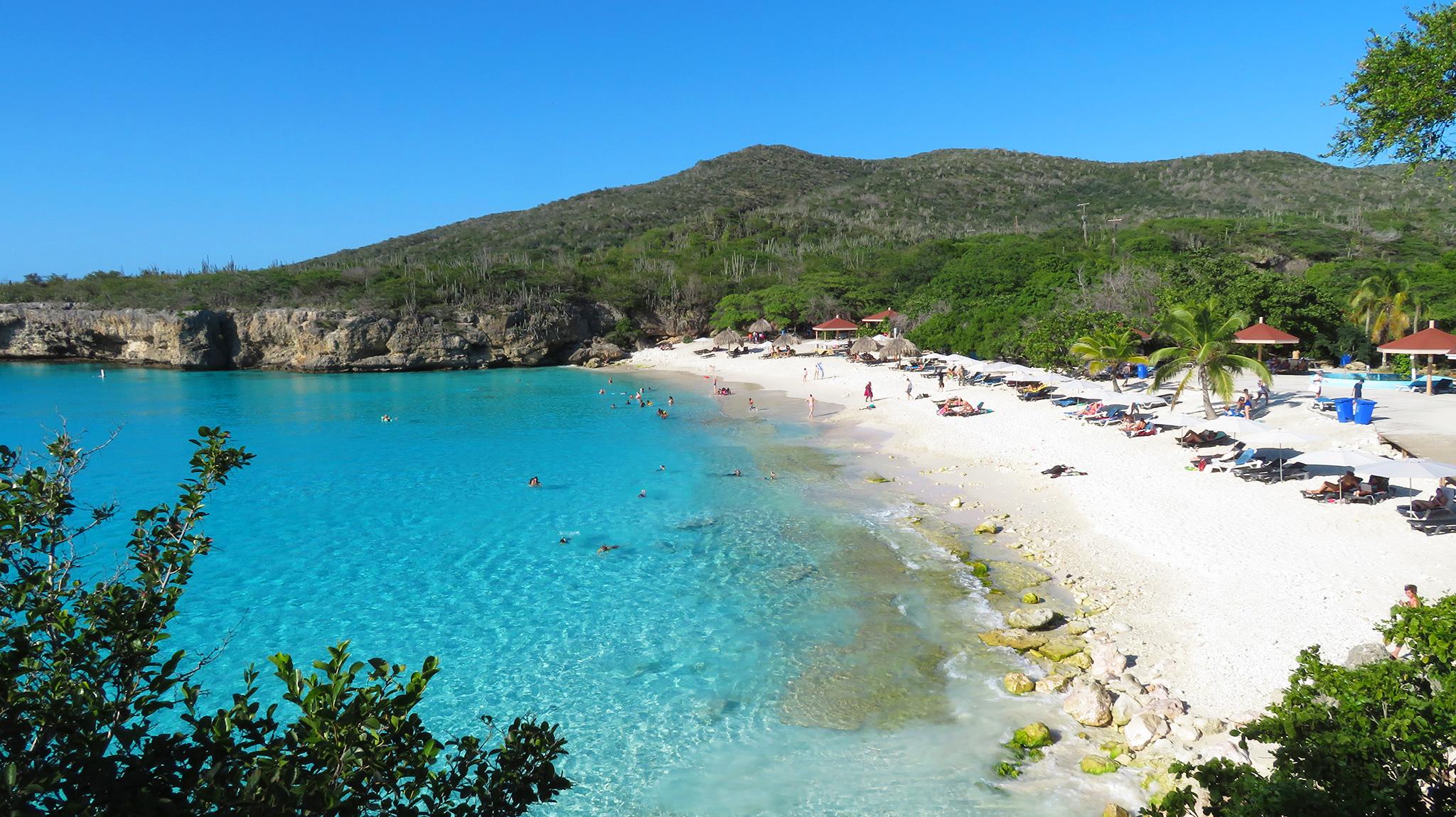 Karibik Kreuzfahrt Curacao Grote Knip Beach Ausflug