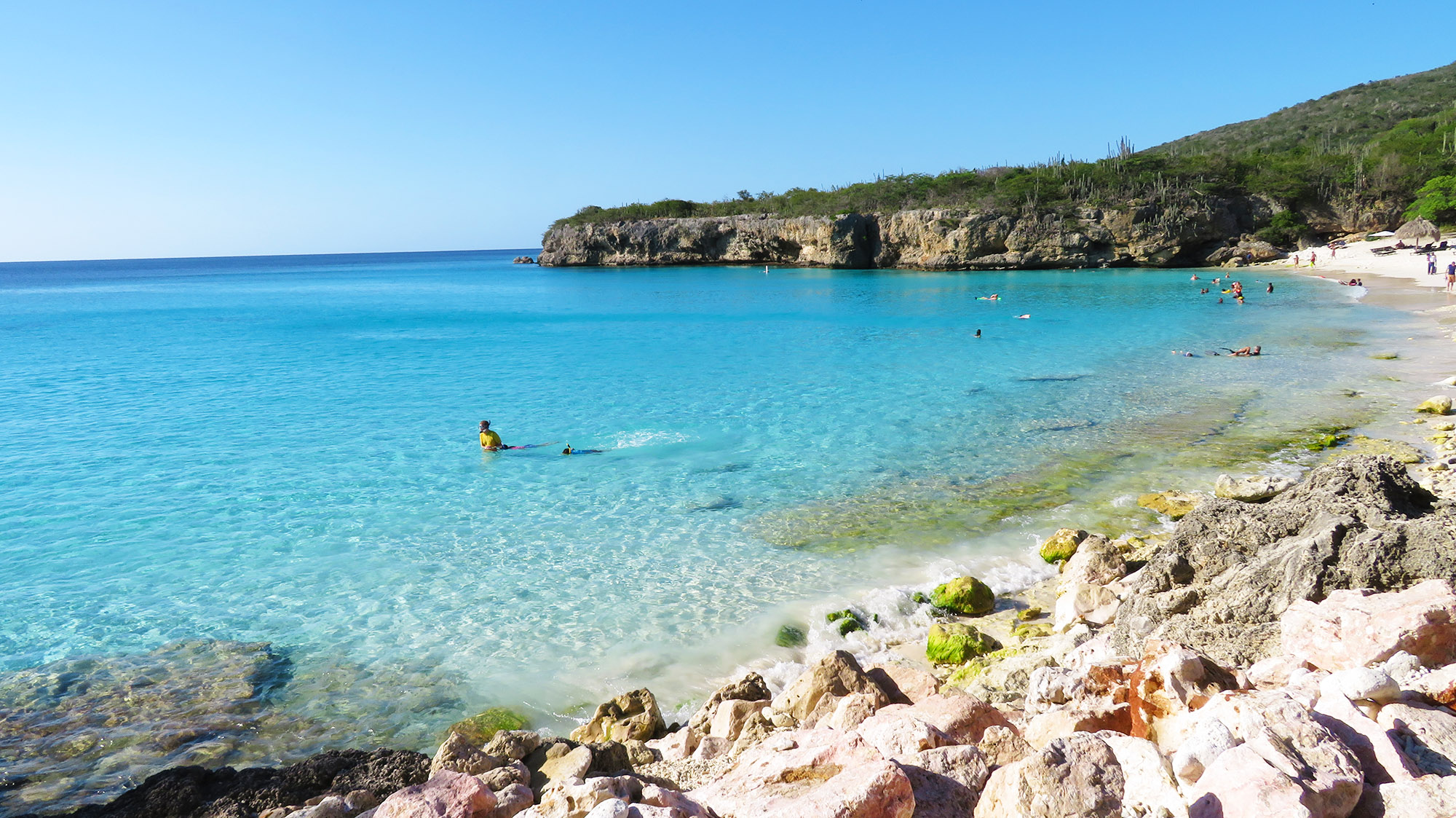 Curacao Grote Knip Beach Strand Ausflug