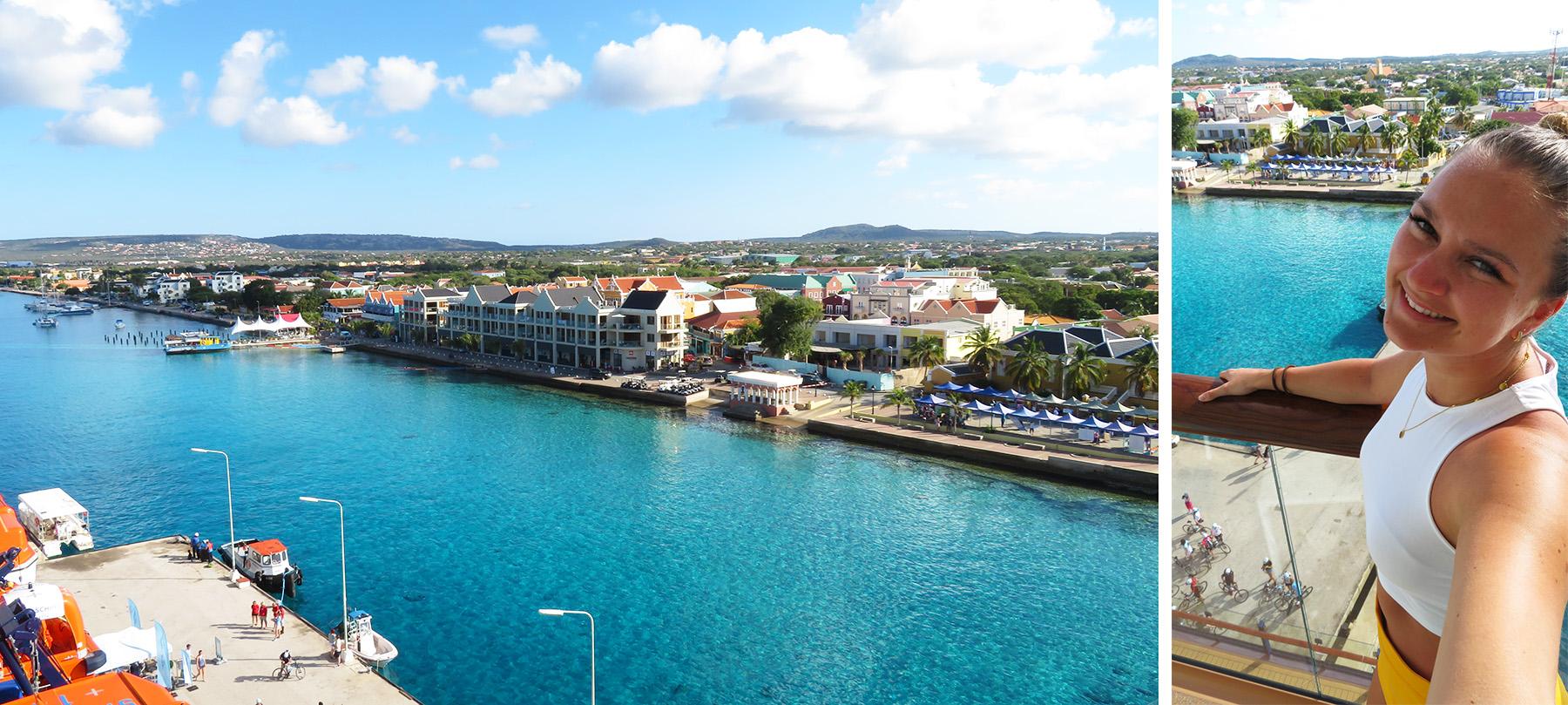 Karibik Kreuzfahrt Kralendijk Bonaire Hafen