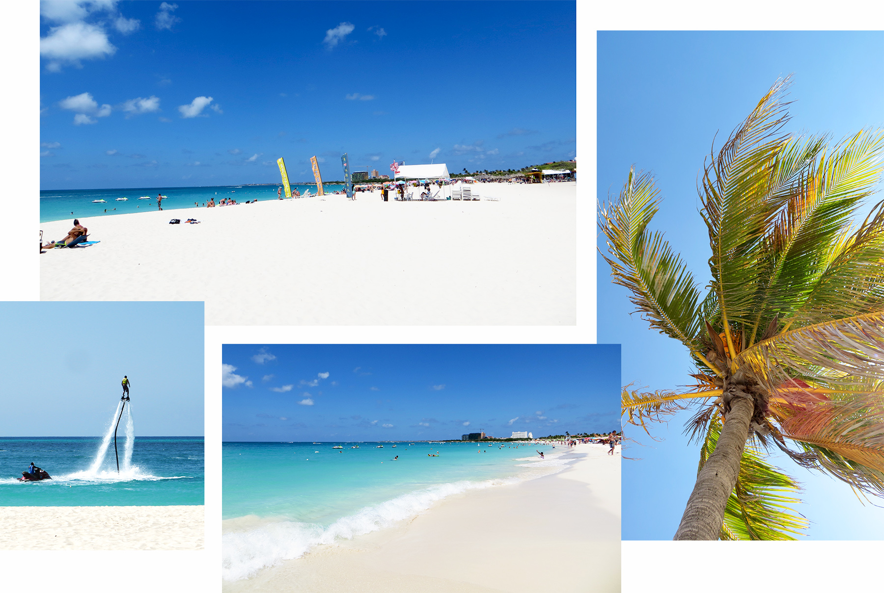 Karibik Kreuzfahrt Aruba Eagle Beach Strand