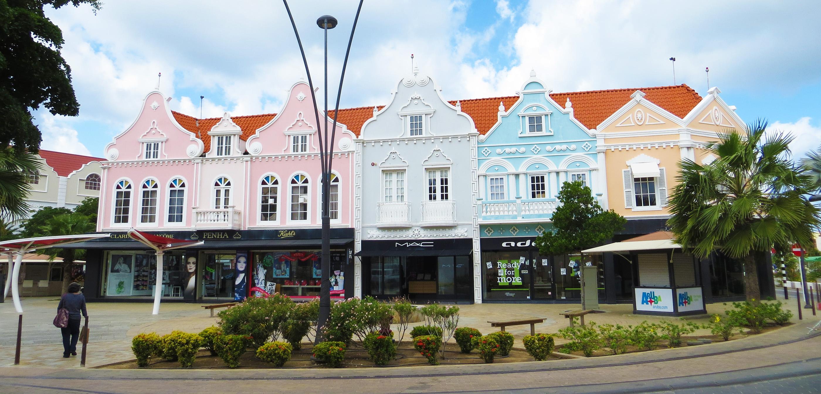 Karibik Kreuzfahrt Aruba Oranjestad Stadt