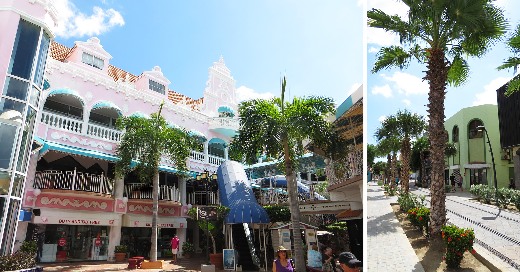 Karibik Kreuzfahrt Aruba Oranjestad Stadtrundgang