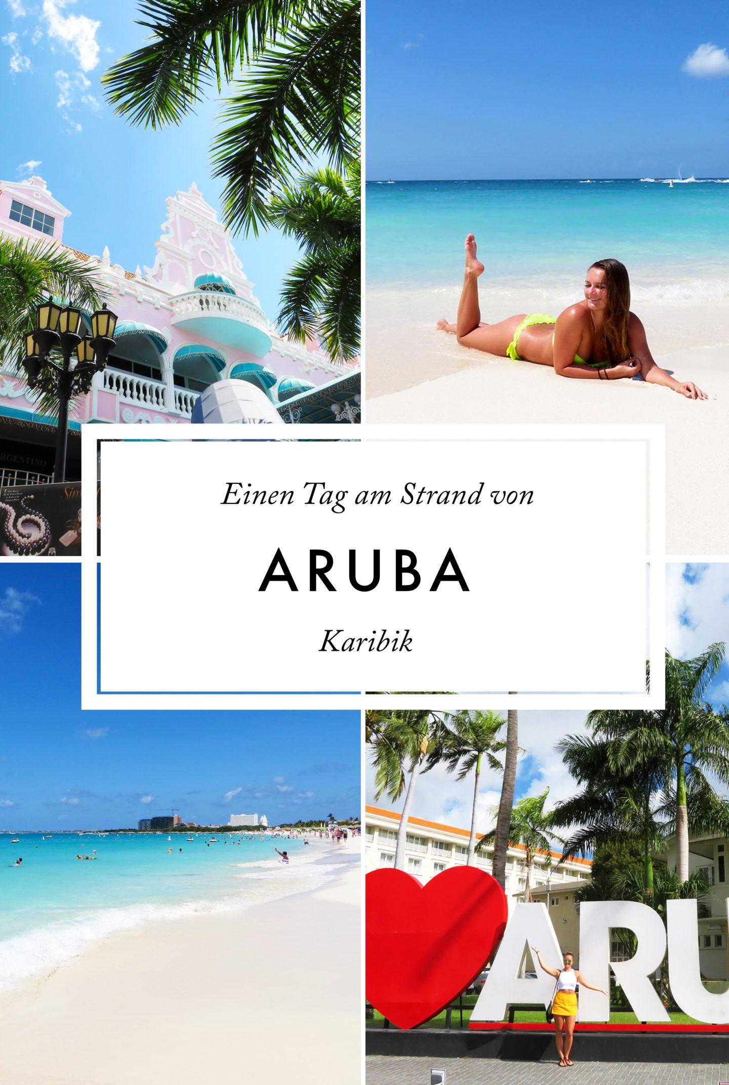 Karibik Kreuzfahrt Aruba Strand