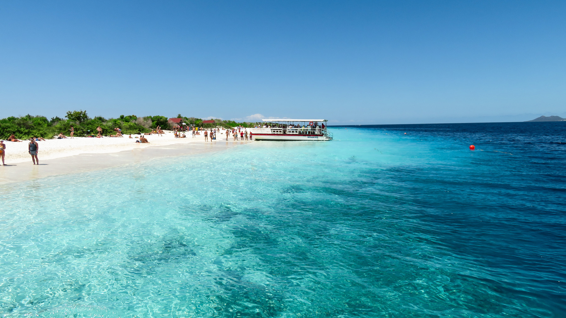 Klein Bonaire Ankunft