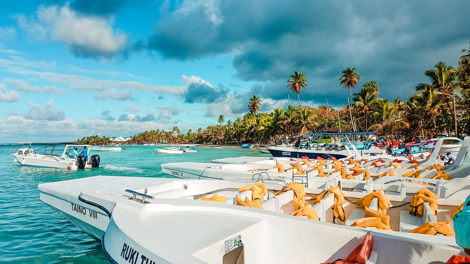 Dominikanische Republik Ausflug Boot