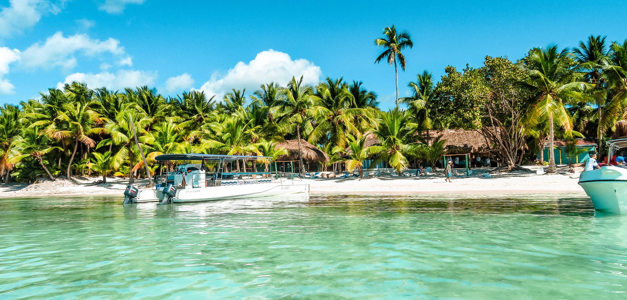 Karibik Kreuzfahrt Dominikanische Republik Isla Saona Boot