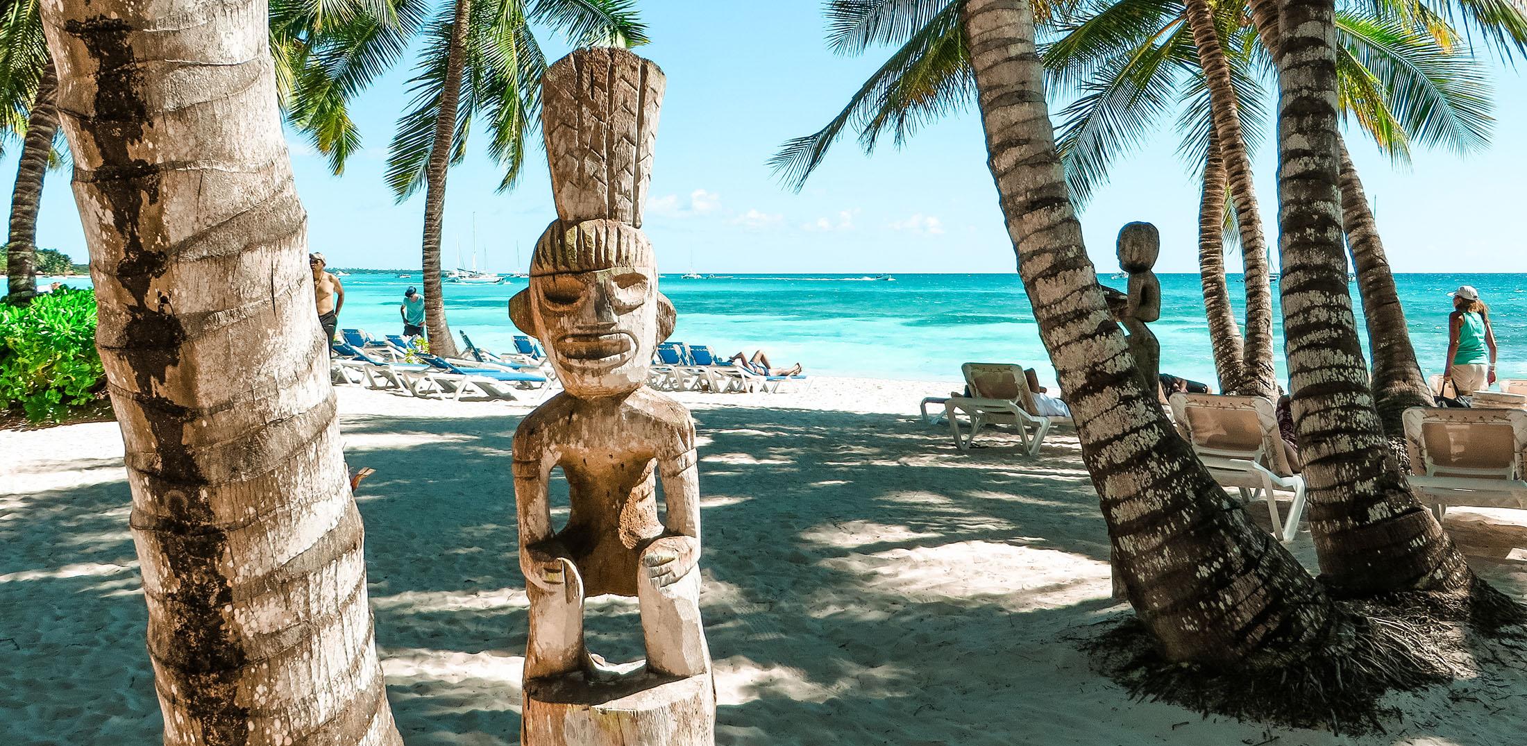 Dominikanische Republik Isla Saona Figur
