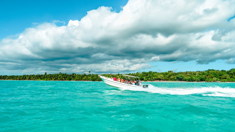 Karibik Kreuzfahrt Dominikanische Republik Isla Saona Ausflug Speedboot