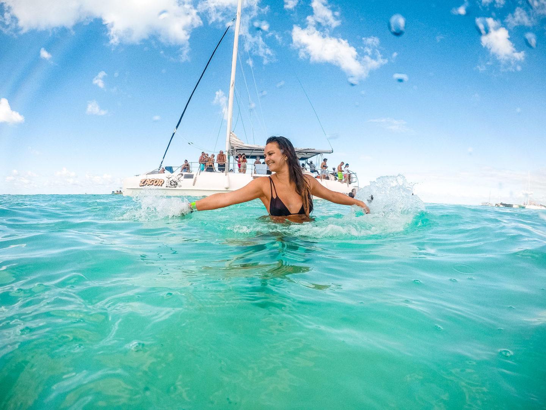 Karibik Kreuzfahrt Dominikanische Republik Isla Saona GoPro
