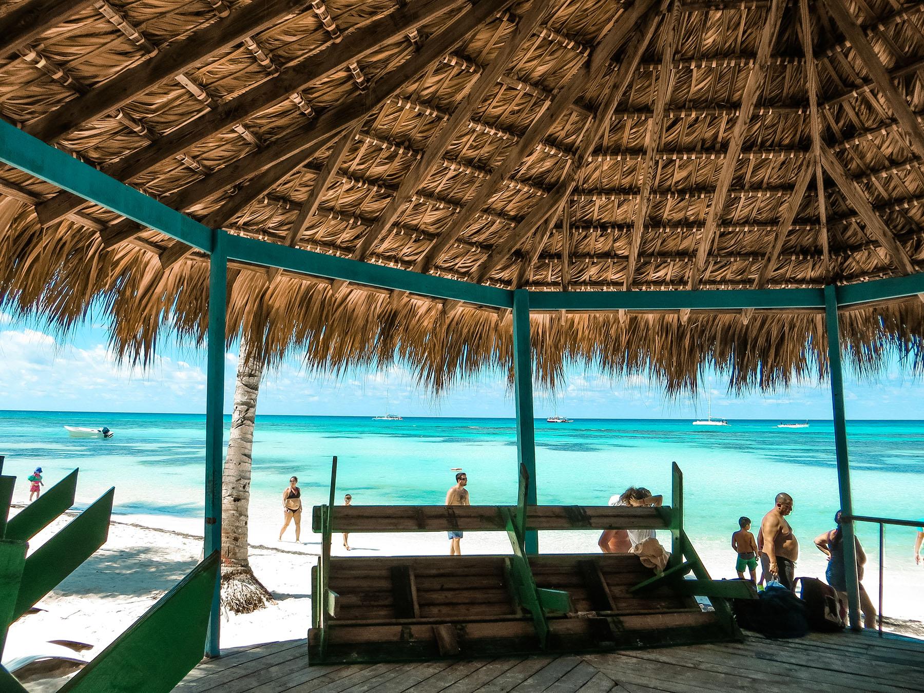 Karibik Kreuzfahrt Dominikanische Republik Isla Saona Strand