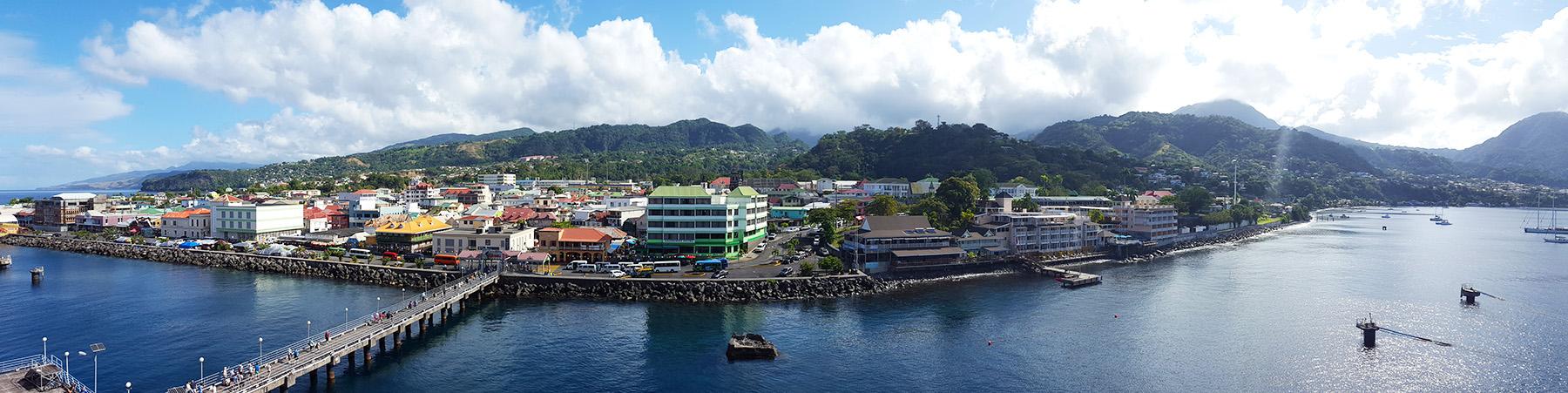 Kreuzfahrt Hafen Dominica