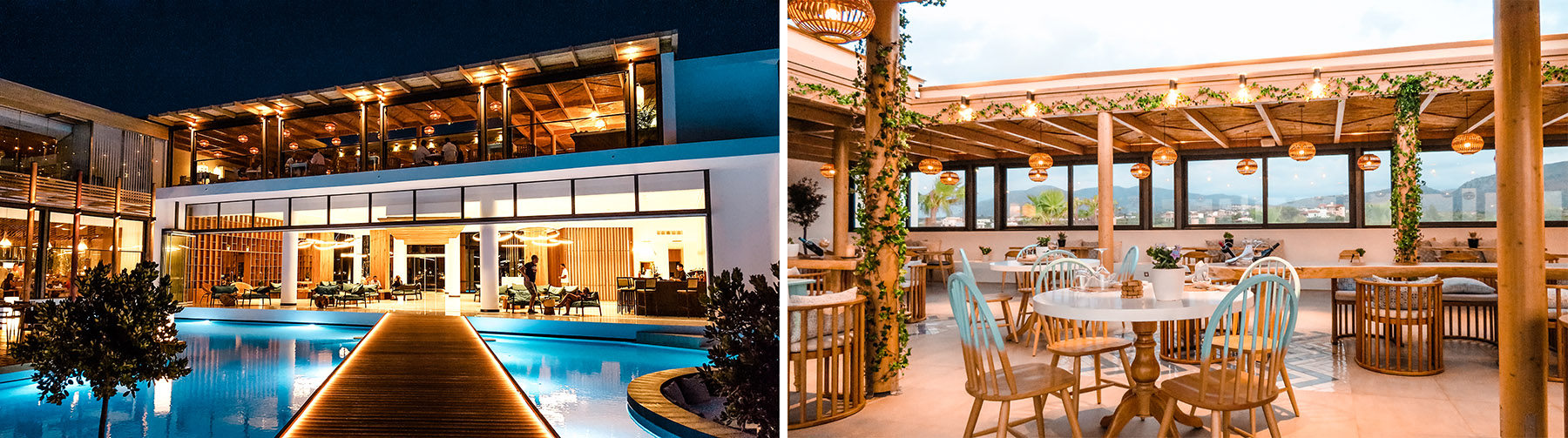 Stella Island Luxury Resort Kreta Lobby Restaurant