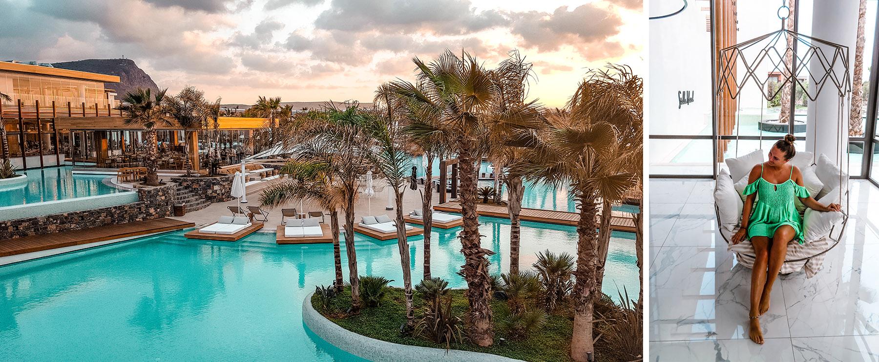 Stella Island Luxury Resort Kreta Pool Lobby