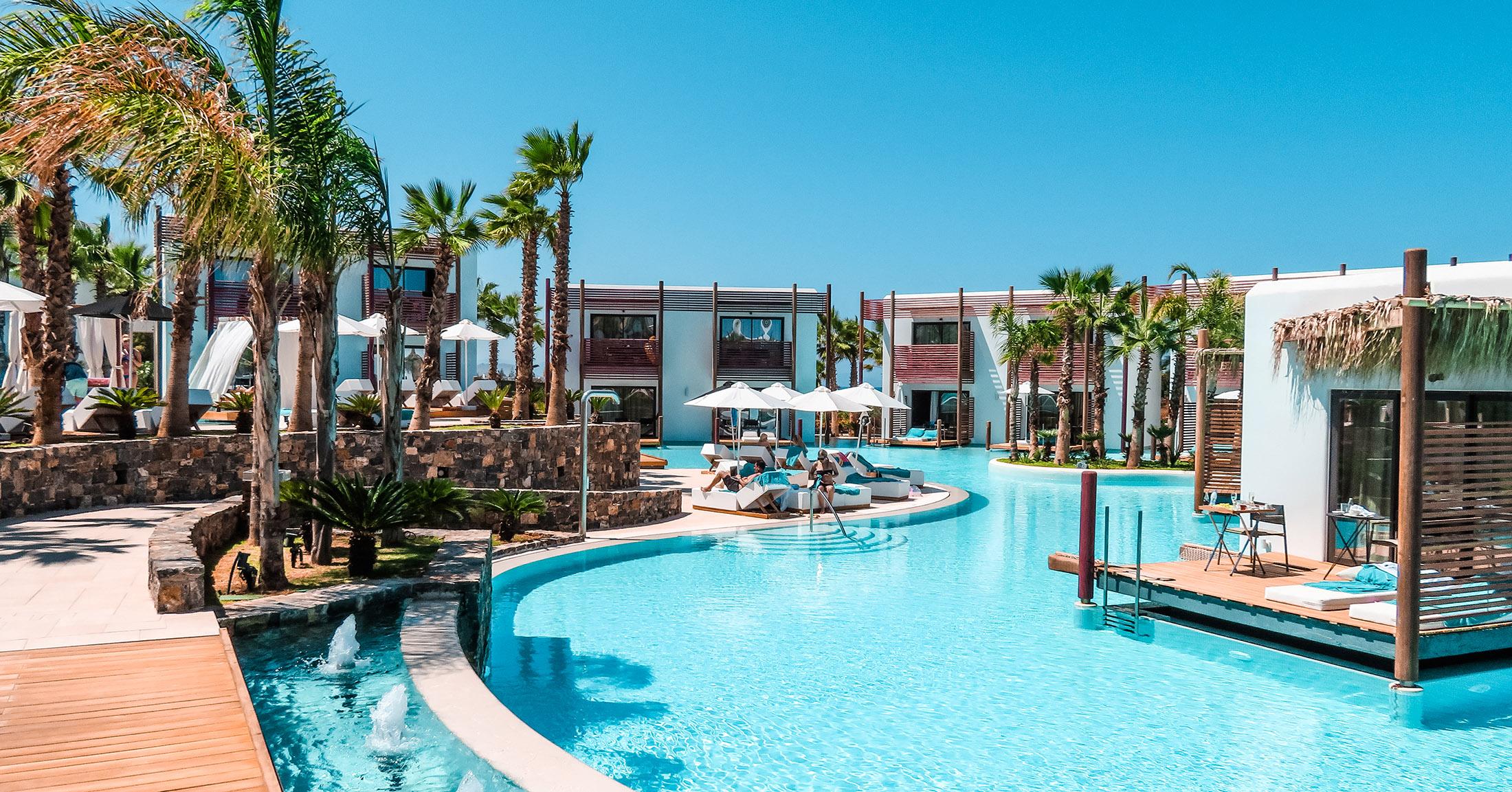 Stella Island Luxury Resort Kreta Pool area
