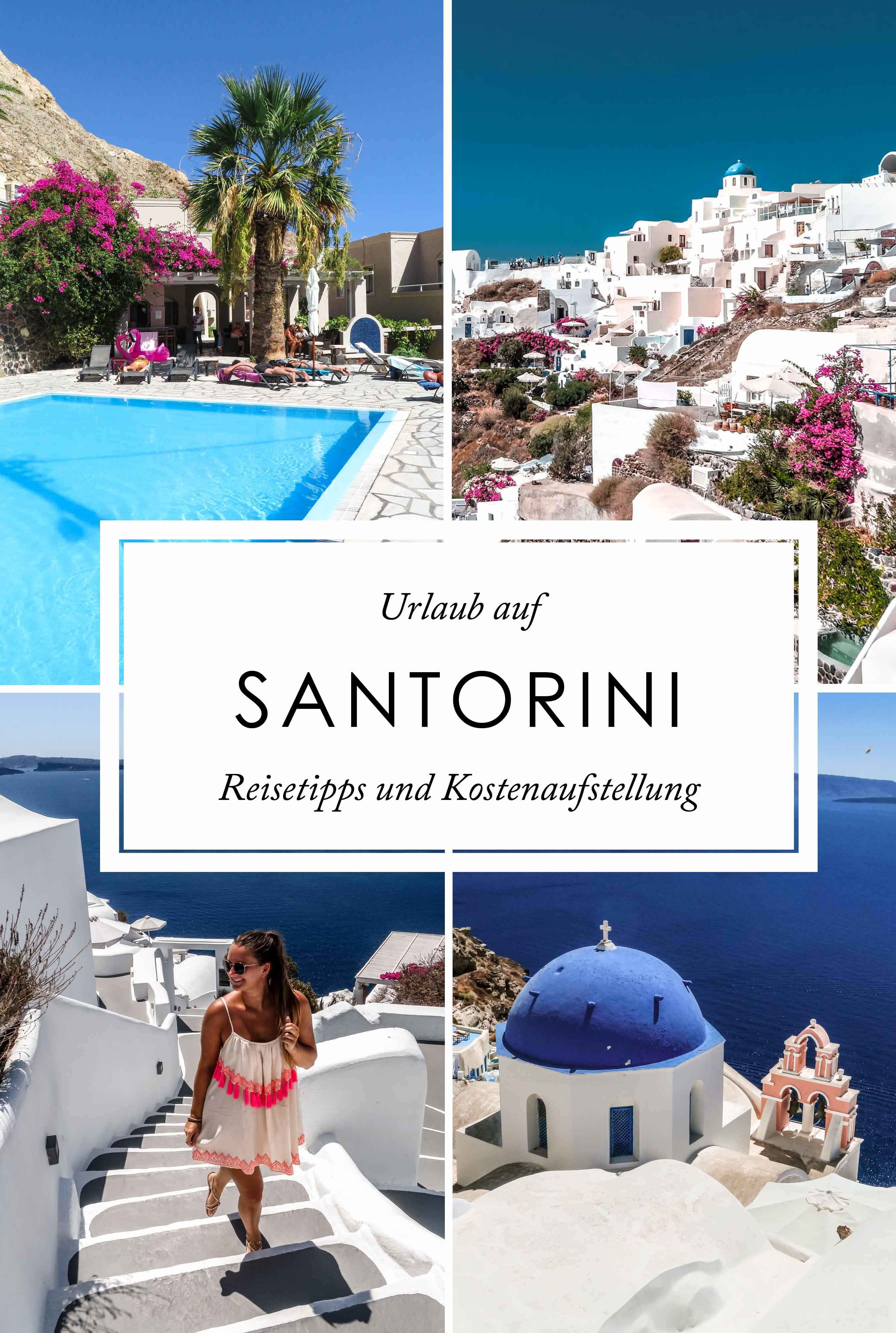 Santorini Pinterest