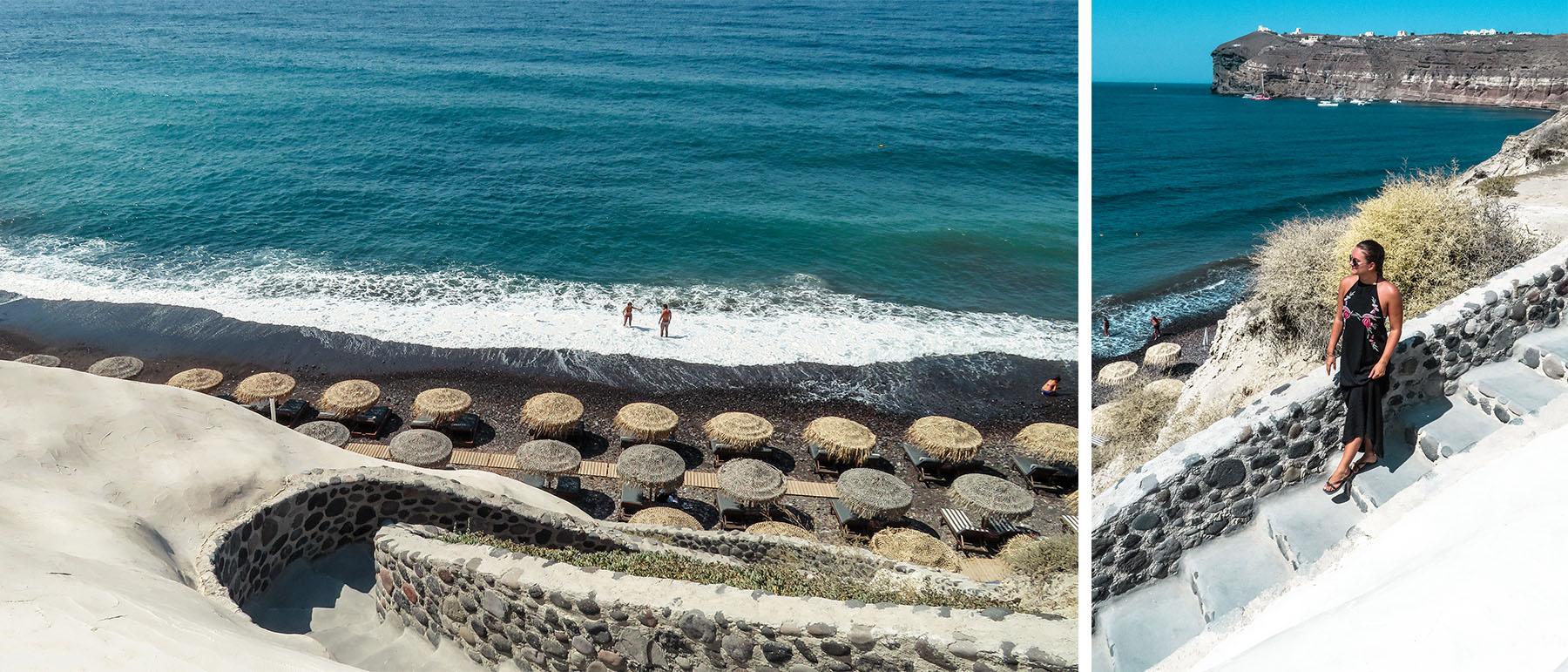 Black Beach Santorini Akro Beach Club