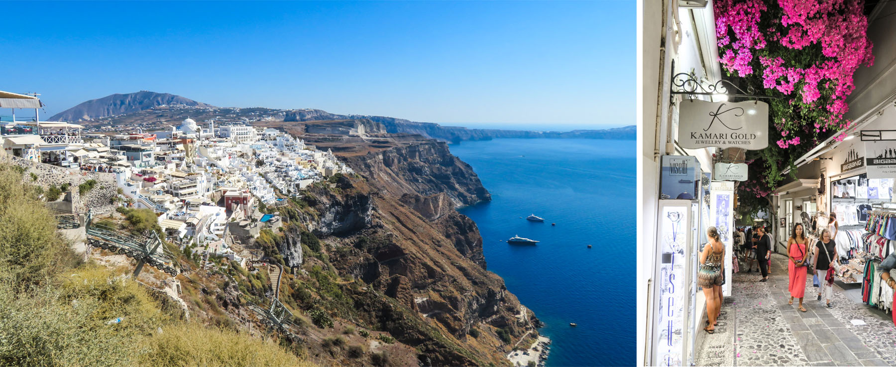 Fira Stadt Santorini