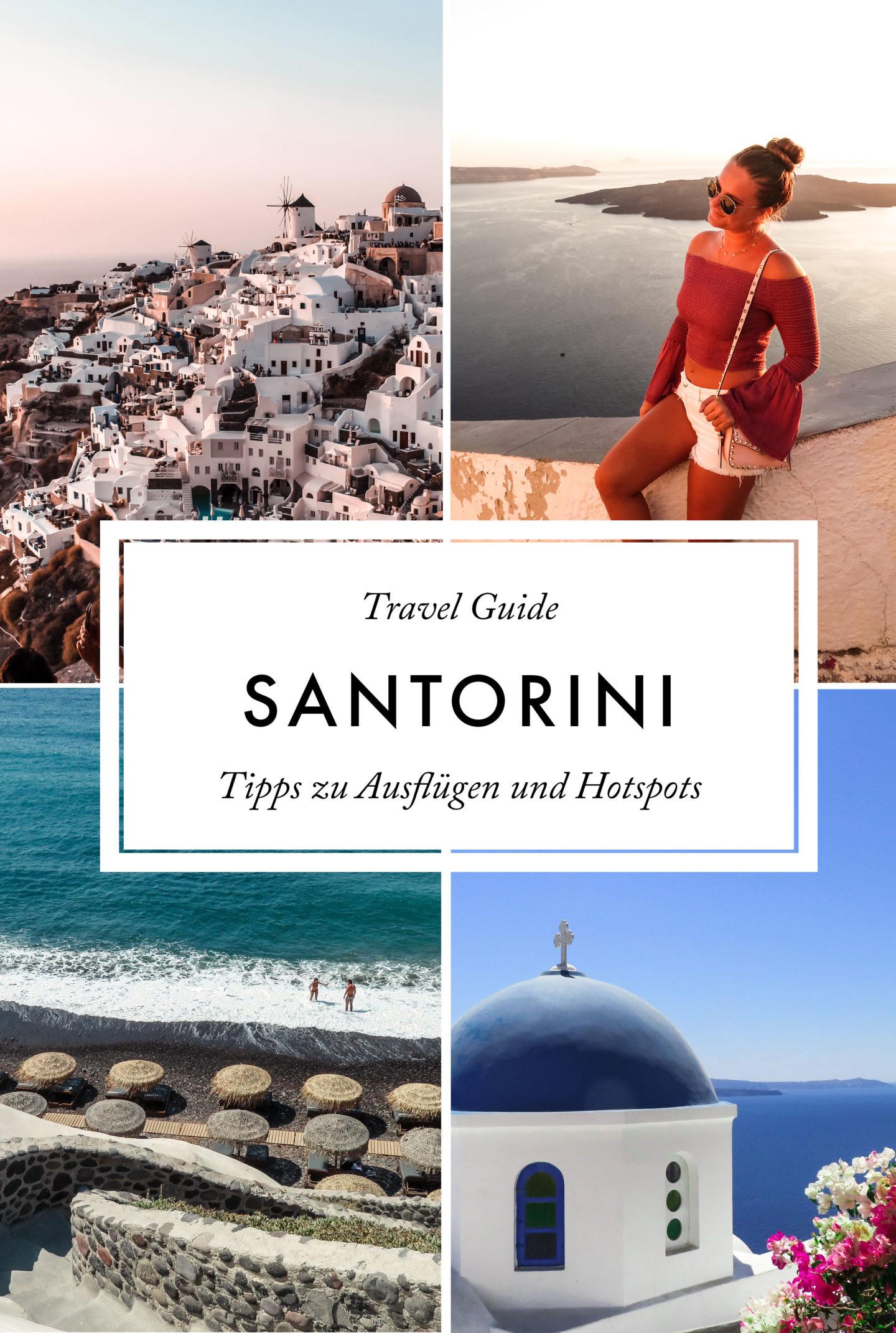 Santorini Travel Guide Ausflüge und Hotspots
