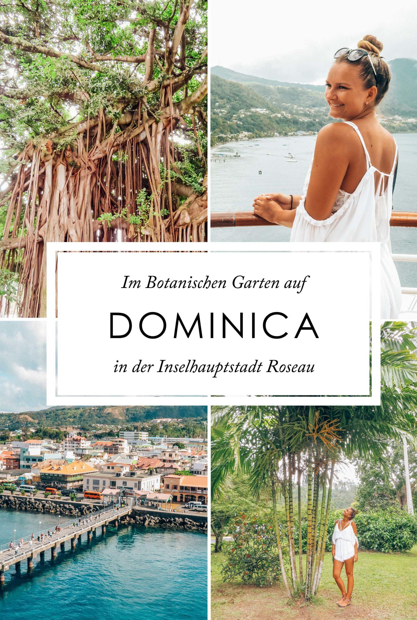Dominica Botanischer Garten Hauptstadt Dominica